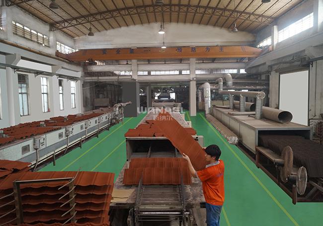 金属瓦自动生产线