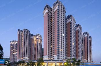 瓦纳尔彩石金属瓦高层建筑应用案例:增城尚东阳光