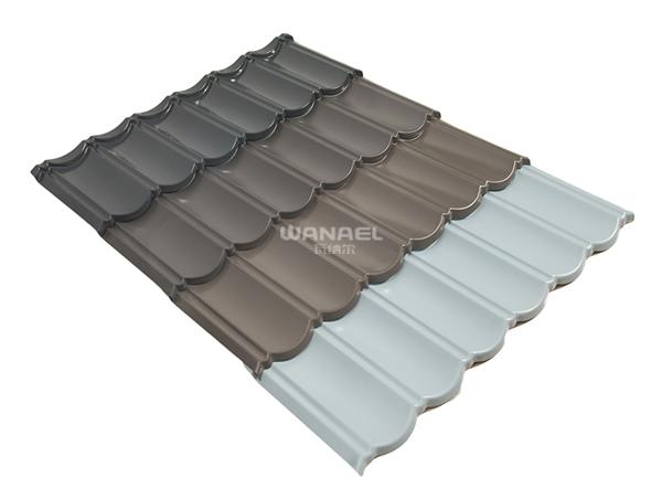 金属屋面氟碳油漆瓦PVDF-01
