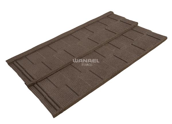 彩石金属瓦平板瓦价格WB-02